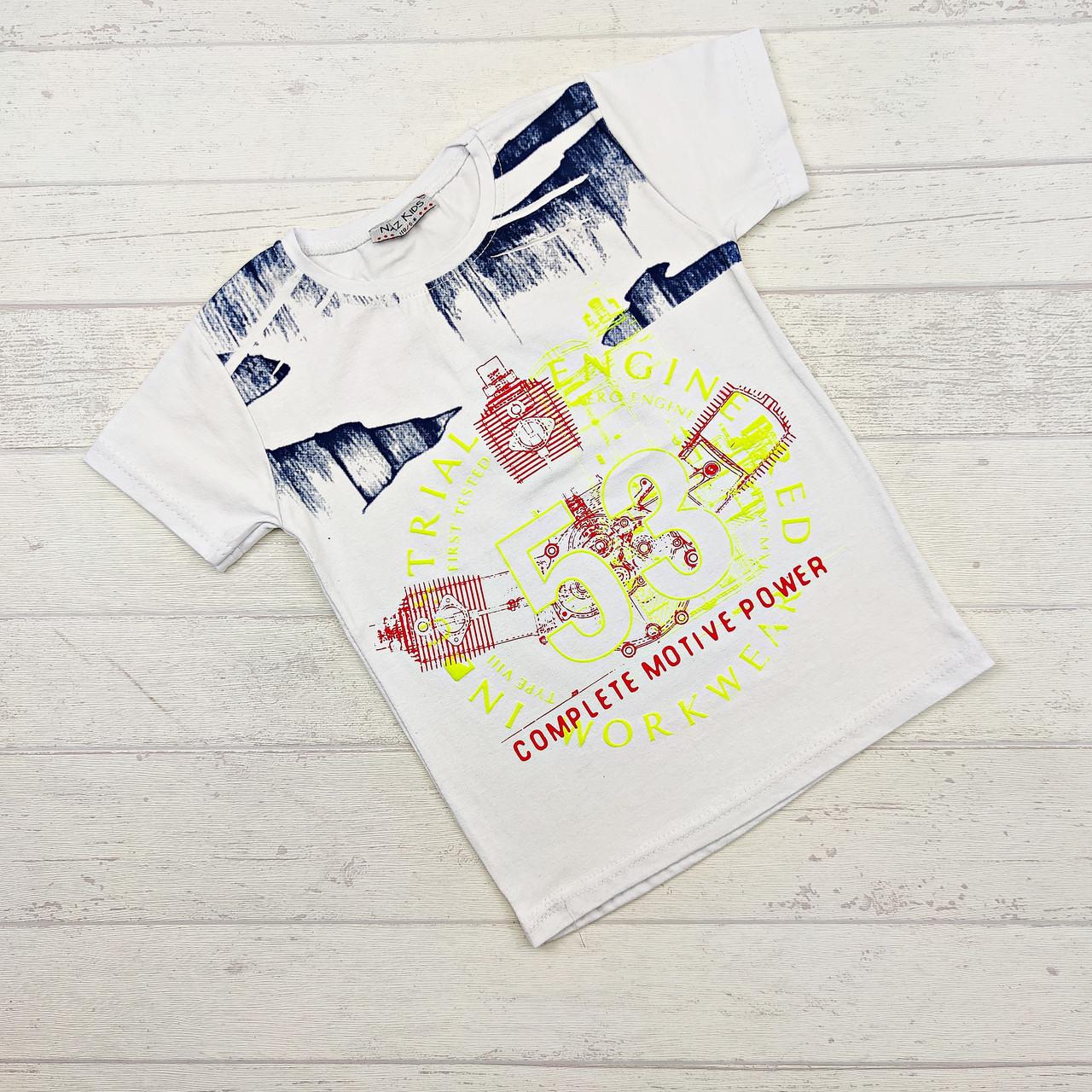 Детская футболка оптом для мальчиков 6-10 лет.: продажа ...