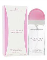 Женская туалетная вода Sergio Tacchini O-Zone Pink Wave (Серджио Тачини О Зон Вумэн Пинк) 50 мл
