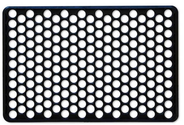 Коврик резиновый Украина черный 71 х 57 х 1.5 см (66-158), фото 2