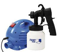 Электрический краскораспылитель Paint Zoom краскопульт пульверизатор