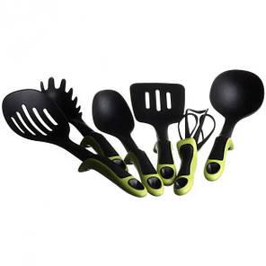 Набор кухонных принадлежностей Kitchen Tools 7 предметов Зеленый, фото 2