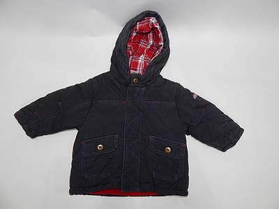 Куртка детская с капюшоном утепленная BABY CLUB, рост 68  034д