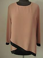 Стильная, элегантная и невероятно женственная блузка, р.50,52,54,56 Код 3238М