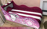 Кровать машина КИТТИ Hipe Drive  комплект от 1500х700, фото 1