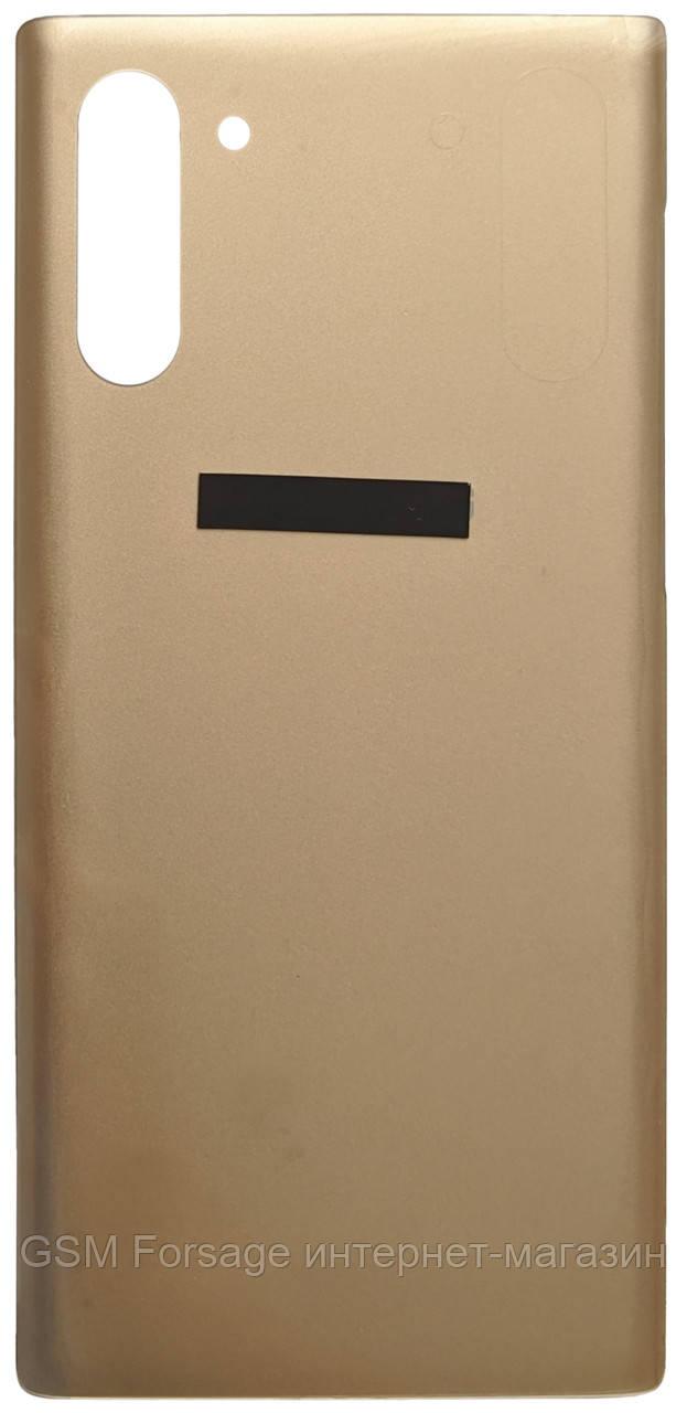 Задняя часть корпуса Samsung N970 Galaxy Note 10 Aurora Gold