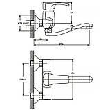 Смеситель для кухни Haiba FOCUS 005 (HB0118), фото 2