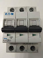 Автоматический выключатель Eaton PL4 3P C 25A, фото 1