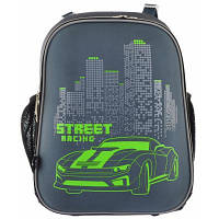 Рюкзак школьный Yes каркасный H-12 Street Racing (555966)