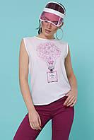 Женская модная футболка на лето