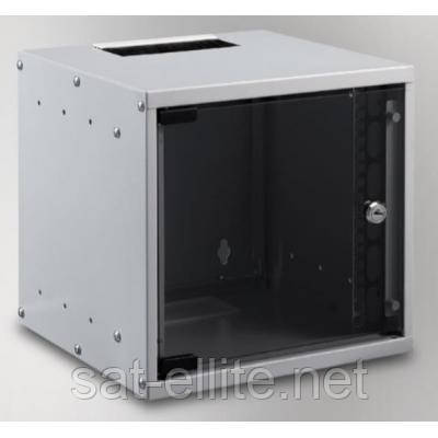 """Шкаф настенный MIRSAN SOHO 6U 10"""" 306x300, RAL 7035 (MR.SOH06U30DE.02 / MR.SOH06U30MN.02)"""