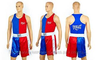 Форма боксерская ELAST VL-3063 (красно-синий) Распродажа!