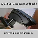 Підлокітник Armcik S1 з зсувною кришкою для Honda City 2002-2008, фото 2