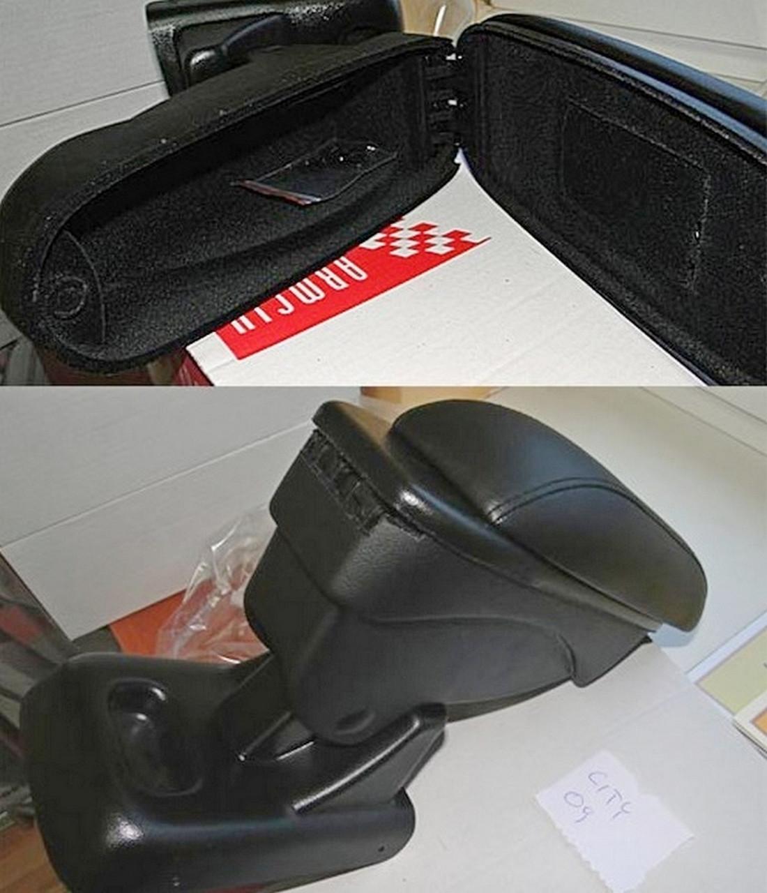 Підлокітник Armcik S1 з зсувною кришкою для Honda City 2002-2008, фото 4