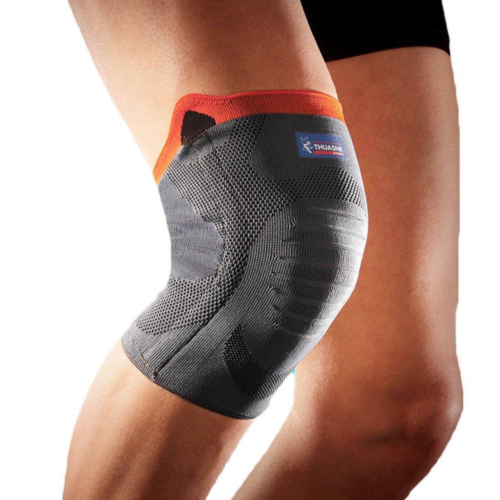 Эластичный бандаж на колено усиленный Thuasne Sport Reinforced 0354 с ребрами жесткости
