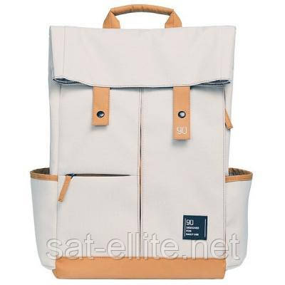 Рюкзак Xiaomi RunMi 90 Points Vitality Backpack Beige (6972125143358)