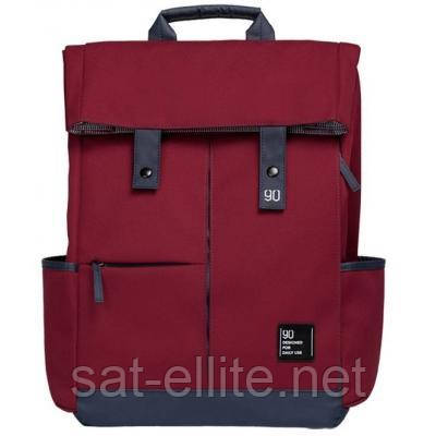 Рюкзак Xiaomi RunMi 90 Points Vitality Backpack Dark Red (6972125143303)