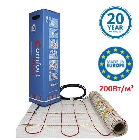 CTAE-200 - 6 м2 (1200 Вт) Comfort Heat Нагрівальний мат двожильний для теплої підлоги