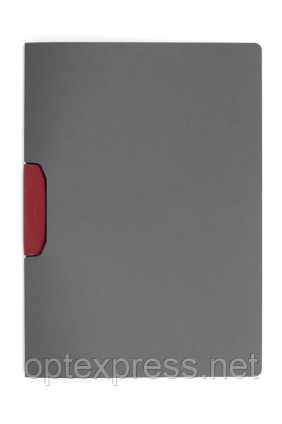 Папка клип-файл DURASWING® COLOR DURABLE на 30 листов красный клип