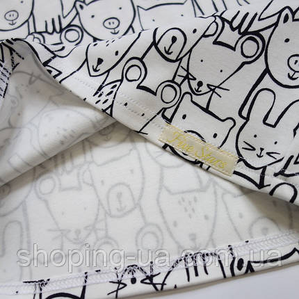 Детская футболка звери на белом Five Stars KD0326-122p, фото 2