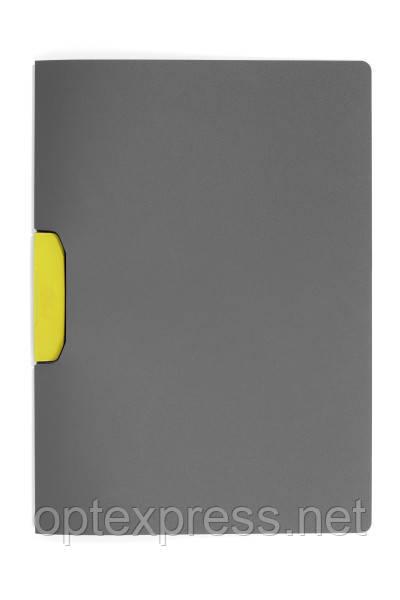 Папка клип-файл DURASWING® COLOR DURABLE на 30 листов желтый клип