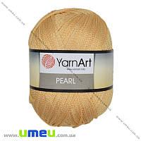 Пряжа YarnArt Pearl 90 г, 270 м, Оранжевая 101, 1 моток (YAR-025334)