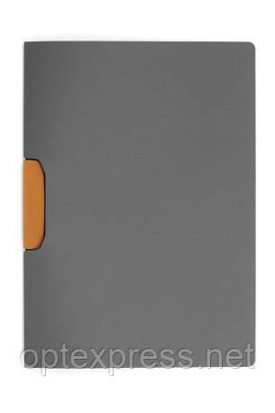 Папка клип-файл DURASWING® COLOR DURABLE на 30 листов оранжевый клип