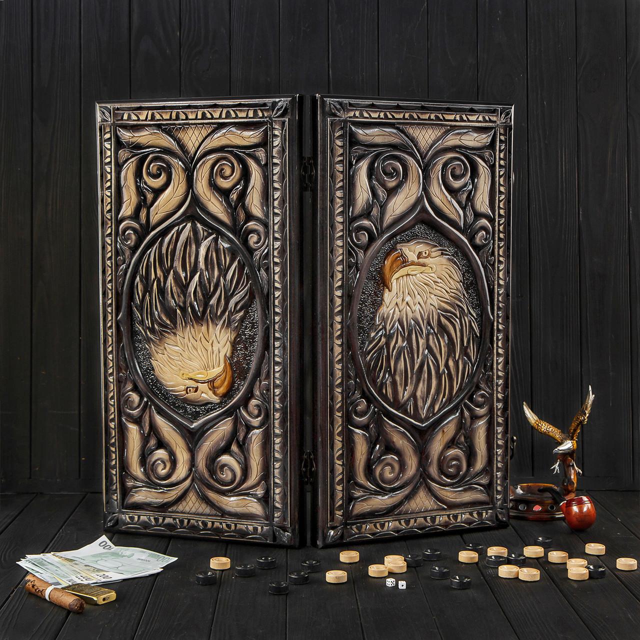 Деревянные нарды ручной работы, оригинальный подарок