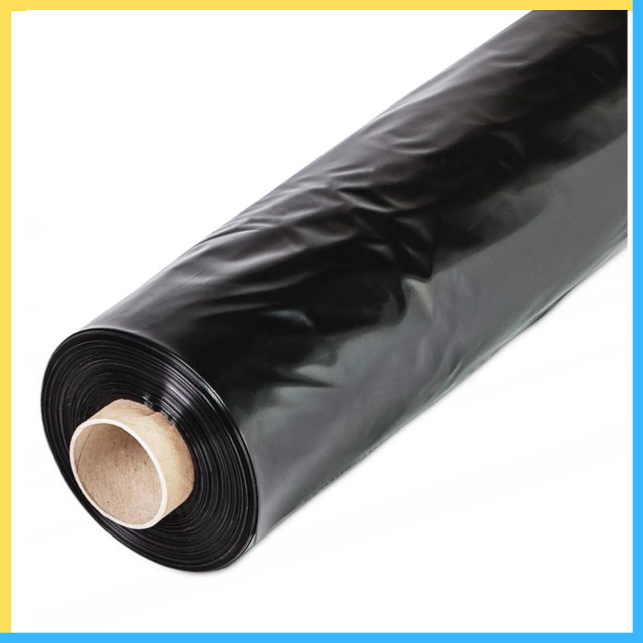 Пленка 80 мкм черная 3*100 м