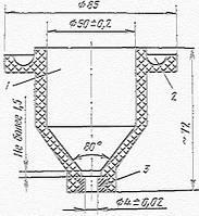 Схема вискозиметра