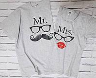 """Парные футболки """"Мистер и Миссис"""""""