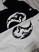 """Парные футболки """"Инь и Янь"""""""