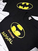 """Парные футболки """"Batman & BADgirl 2"""""""