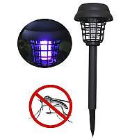 Уличный светильник Lesko H42 садово-парковый на солнечной батарее газонный лампа от насекомых и комаров