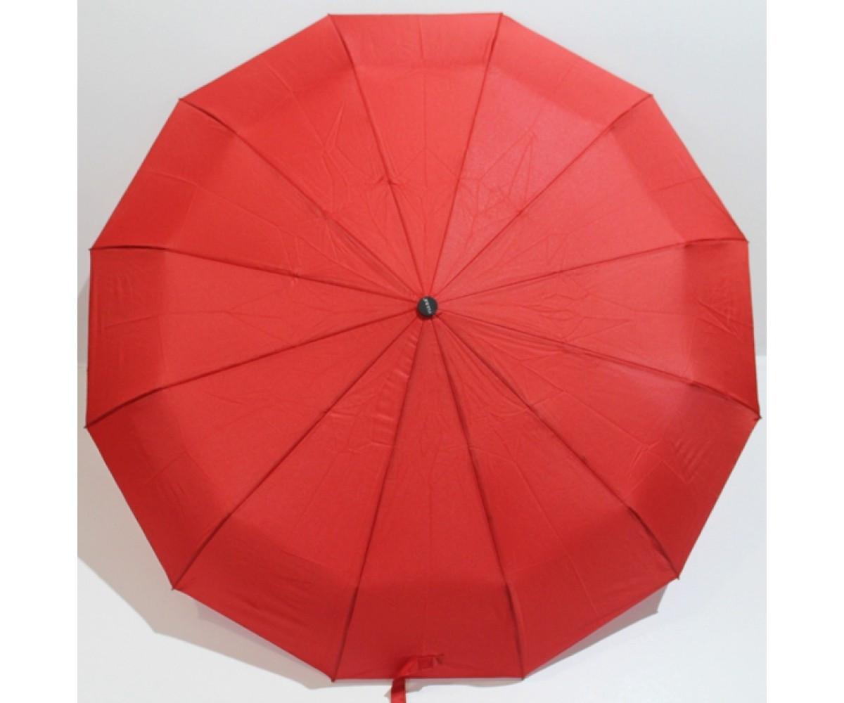 Зонт женский складной автомат  Fiaba  Антиветер 12 карбоновых спиц
