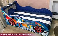 Кровать машина РОБОКАР Hipe Drive  комплект от 1500х700, фото 1