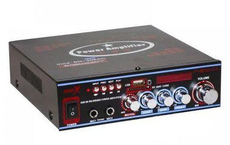 Підсилювач звуку Bosstron ABS-308BT з караоке і Bluetooth