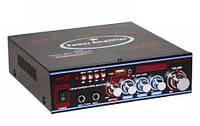 Підсилювач звуку Bosstron ABS-308BT з караоке і Bluetooth, фото 1
