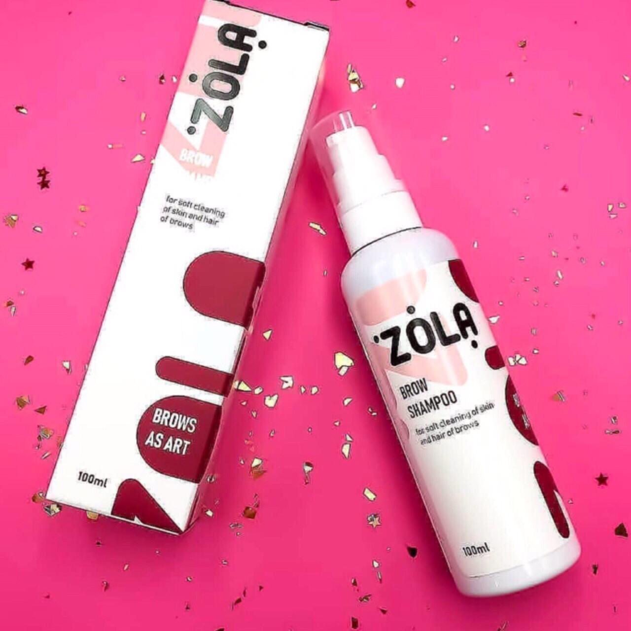 "Шампунь для бровей (Brow Shampoo) ""ZOLA"", 100 мл"