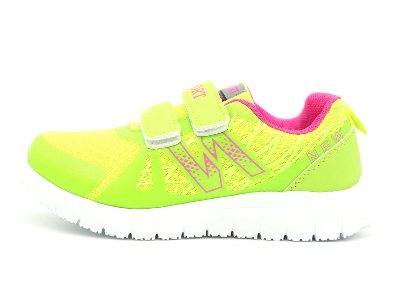Кросівки Для дівчаток Салатовий Розміри: 32 (18,5 см)
