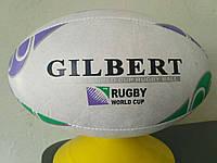 Мяч для регби GILBERT  ( кожа, № 5 )