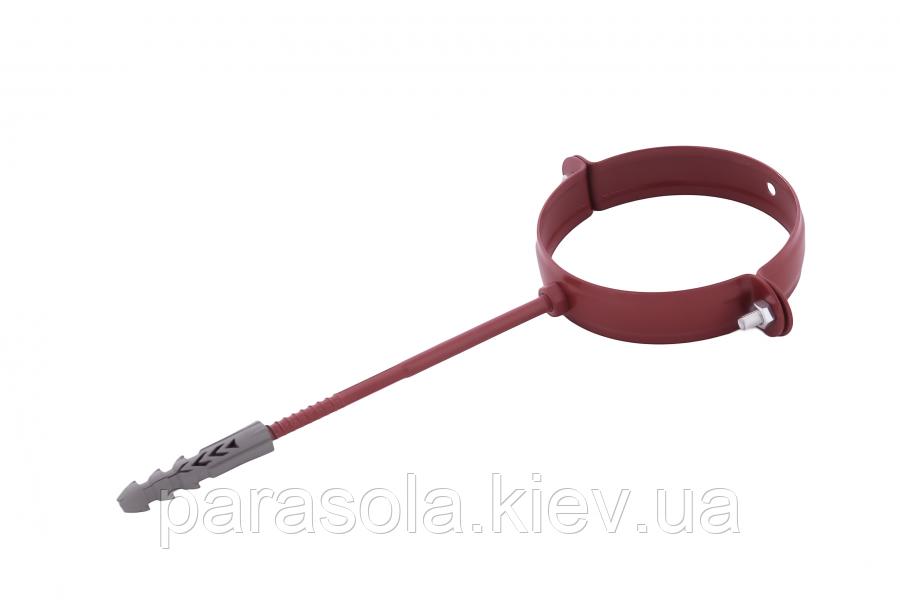 Держак труби Profil метал. L160 90 червоний