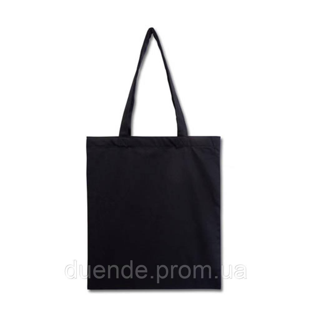 Эко сумка, ткань хлопок, цвет черный / su 49031103