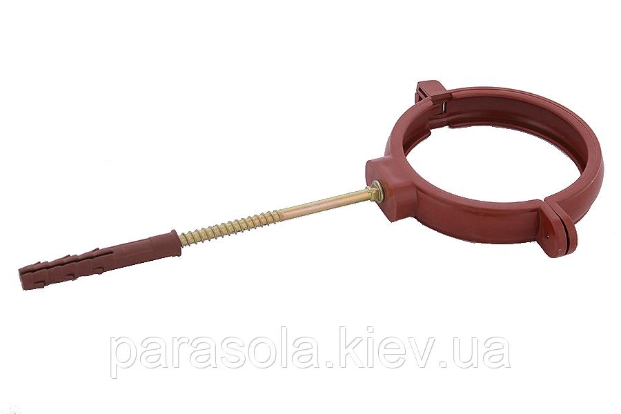 Держак труби Profil пласт. L160 90 червоний