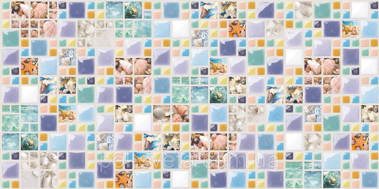 Панель ПВХ Grace Лагуна (мозаика)