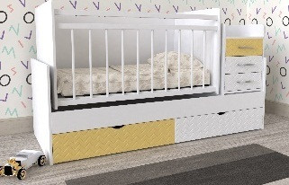 Дитяче ліжко Art-In-Head ДМ039 мдф