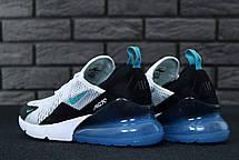 Мужские кроссовки Nike Air 270 White/Blue/Black, фото 3