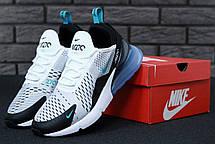 Мужские кроссовки Nike Air 270 White/Blue/Black, фото 2