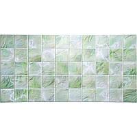Панель ПВХ Grace Перламутровая зеленая (плитка)