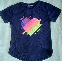 Модная футболка-топ для девочки Likee 8,10,14 лет