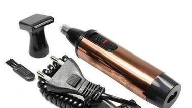 Аккумуляторный электрический триммер для носа, ушей и бороды 2в1 Nikai NK 2188, фото 3